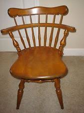Ethan Allen Swivel Glider Chair by Ethan Allen Concord Side Chair Heirloom Nutmeg Maple 10 6002 Early