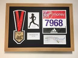 London Marathon 2017 Display Frame Medal