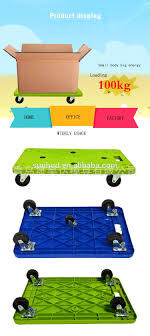 100 Universal Food Trucks Tools Pull Cart Plastic Trolley For Warehouse With 4