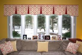 Window Valances For Living Rooms Hidden Rod Pocket Contemporary Room Treatments