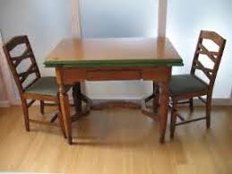 Vintage 1930s Kitchen Table And 4 Chairs