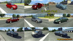 AI Traffic Pack V1.5 For Euro Truck Simulator 2 » Download Simulator ...