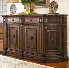 Beautiful Furniture Sideboards Applied To Your House Design Curved Credenza Buffet With Insert Marble Top