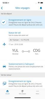 avion air transat siege air transat dans l app store