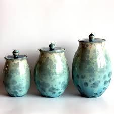 35 best pottery canister sets images on pinterest ceramic