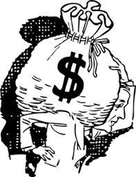 Big Bag Of Money Vector Image