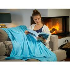 kuscheldecke tagesdecke wohndecke mikrofaserdecke fleecedecke sofa decke 200x150cm hellblau