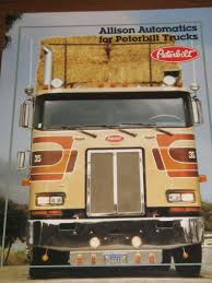100 Semi Truck Transmission Vintage Peterbilt Allison Brochure