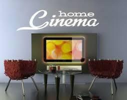 wandtattoo home cinema heimkino sprüche wohnzimmer kino tv