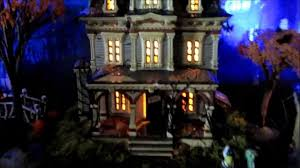 Dept 56 Halloween Village by Dept 56 Lemax Spooky Town Halloween Village Display 2013 Youtube