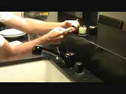 American Standard Kitchen Faucet Leaking At Base by How To Repair An American Standard Kitchen Faucet Part 1 Youtube