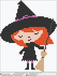 Halloween Perler Bead Patterns by Bruja 3 En Hama Beads Patrones Cuentas Hama Bead Pinterest