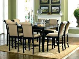 Dining Tables And Chairs Funky Room Table Alluring 8 Square Dark Wood