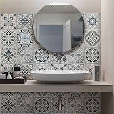 stickers carrelage salle de bain ps00054 oslo adhésive décorative à carreaux pour salle de bains
