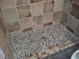 pebble mosaic tile home depot 84 best rock images on