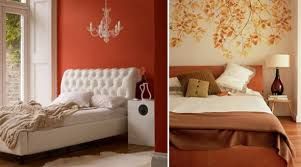 Cute Orange Bedroom Interior Design Enchanting Designing Ideas With