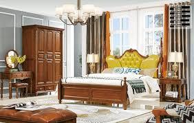 schlafzimmer set antik stil gründer zeit holz schrank bett chesterfield 6 tlg