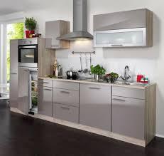 einbauküche mankanano 4 trüffel glanz sonomaeiche küchenzeile 310 cm ohne e geräte