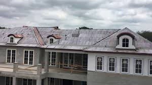 Ludowici Roof Tile Green by Istueta Roofing Ludowici Tile With Copper Dormers Job In Progress