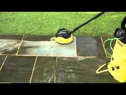 Karcher Floor Scrubber Attachment by Cleaning Patios With Karcher Pressure Washer And Patio Accessories