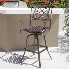 Eurolux Patio Santa Ana by Furniture Outdoor Swivel Bar Stools Ebay Patio Stools Bar Height