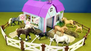 Horse Stable Barn Playset For Kids - Animals Toys Video - YouTube Saddle Up With The Sleich Horse Club Riding Centre The Toy Insider Grand Stable Barn Corral Amazoncom Melissa Doug Fold And Go Wooden Ikea Hack Knagglig Crate For Horses Best Farm Toys Photos 2017 Blue Maize Breyer Stablemates Red Set Kids Ebay Life In Skunk Hollow Calebs Model How To Make Stall Dividers A Box Toy Horse Barns Sale Ideas Classics Country Wash Walmartcom Kid Friendly Youtube Traditional Deluxe Wood Cupola