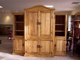 Western Style Entertainment Center Ponderosa Pine