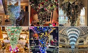 People Are Hanging Their Christmas Trees Upside Down
