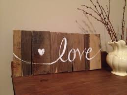 Love Original Wood Pallet Art Piece Sign By JillianArtandDesigns 4900
