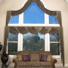 Kohls Triple Curtain Rods by Window Treatments For Bay Windows To Consider
