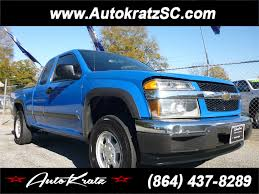 100 Used Trucks Anderson Sc 2007 Chevrolet Colorado LT1 Ext Cab 4WD For Sale In