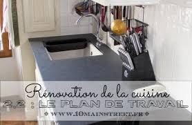 cuisine renovation fr rénovation de la cuisine installation du plan de travail en compakt