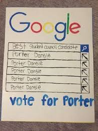 Campaign Student Council Posters