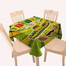 Amazon.com: All Of Better Fiesta Kitchen Table Cover Sprites ... Mexican Pine Ding Table And Chairs Kimteriors Property Rentals On The Beach Luna Encantada C2 Tableware Wikipedia China Outdoor Fniture Nice Hall Loft Style Restaurant Stock Photo Edit 6 Chairs In De21 Derby For Kitchen Design Ideas Trum House Interior Before You Buy A Chair Room Set Indoor Indonesia Project Catering Singapore Cheat Your Way Through Party