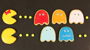 Nerdy Nummies Halloween Challenges by How To Make Pacman Cookies Nerdy Nummies Youtube