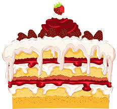 Cake clipart cack Pencil and in color cake clipart cack
