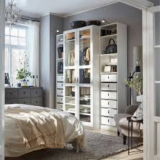 stylish storage with ikea pax tyssedal wardrobe
