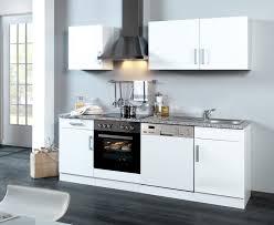 küchenzeile varel küche mit e geräten breite 220 cm hochglanz weiß
