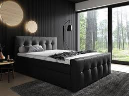 mirjan24 boxspringbett malibu bett mit zwei bettkästen stilvoll doppelbett farbe soft 011 größe 200x200 cm