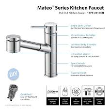 Pegasus Faucet Cartridge Nsf 61 by Kraus Kpf 2610ch Modern Oletto Single Lever Pull Out Kitchen