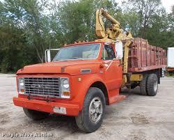 100 1972 Chevrolet Truck 6500 Crane Truck Item FT9850 SOLD Octobe