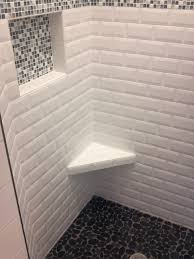spa shower style bathroom nashville by professional