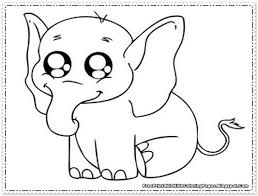 New Elephant Color Pages 37 For Coloring Online With