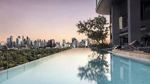 100 Infinity Swimming SO Sofitel Bangkok Pool