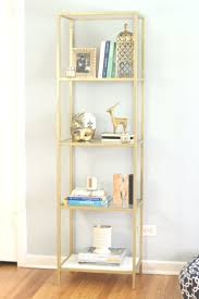 painted ikea vittsjo bookcase home decor design haus