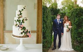 Secret Garden Wedding Cake Image By Abbey Grace Photography Via Style Me Pretty Right