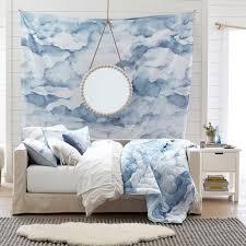 Watercolor Cloud Tapestry