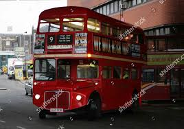 100 Westbourn Grove Aec Routemaster Bus E Station Getting Editorial Stock