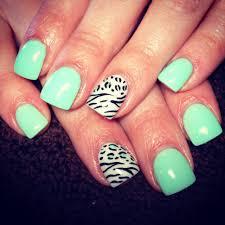 Elegant Nail Theme With Additional Nail Designs Zebra Print Nail