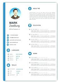 Free Downloadable Resume Template Templates Word Download For Creative Cool